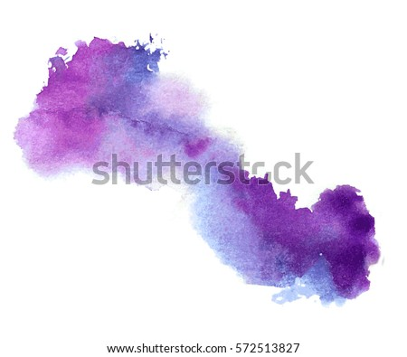 vector watercolor splash