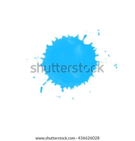 vector watercolor splashes