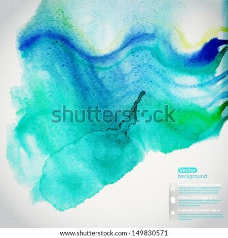 vector watercolor texture....