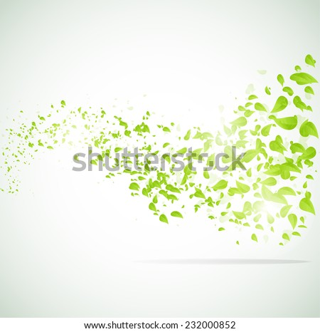 vector wave background with