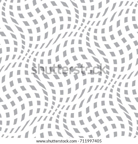 Vector wave pattern. Geometric background