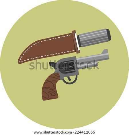 vector weapons   knife and