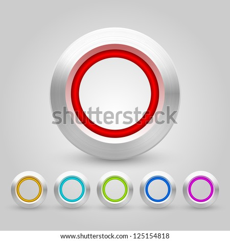 Vector Web Buttons Pack