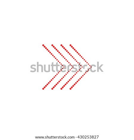 Vector web icon / Arrow icon / Arrow Icon Vector / Arrow icon isolated on white background / Vector illustration
