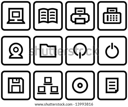 Vector web icon Set  You'll find more icons like this in my portfolio
