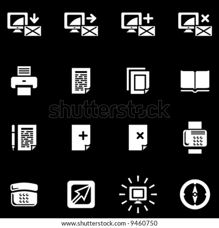Vector Web Icons Set  You'll find more icons in my portfolio