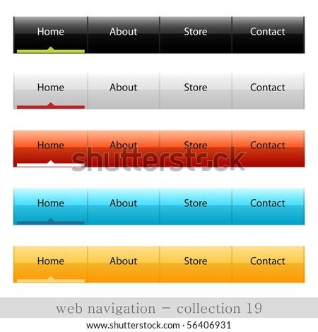 Vector web navigation