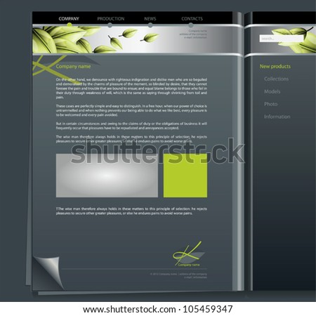 Vector web site