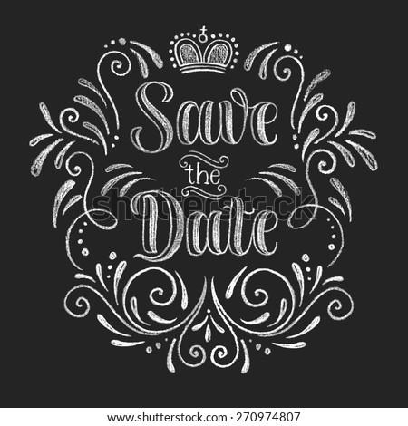 vector wedding design template