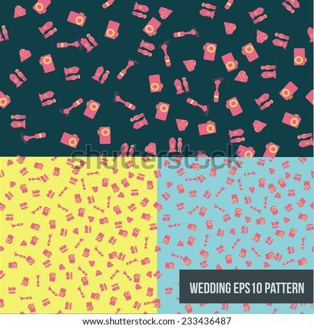 Vector wedding seamless patterns EPS10 #233436487