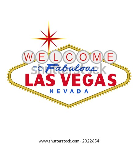 sign vector for the city of las vegas rh vecteezy com las vegas welcome sign vector las vegas sign vector free