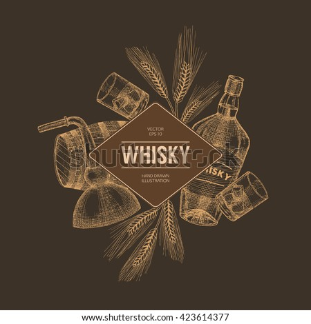 vector whisky production...