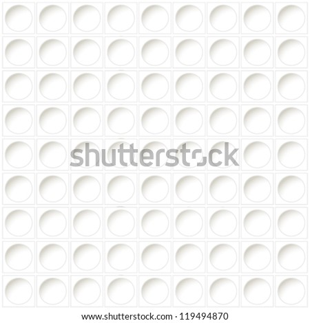 Vector white background - prepunched paper