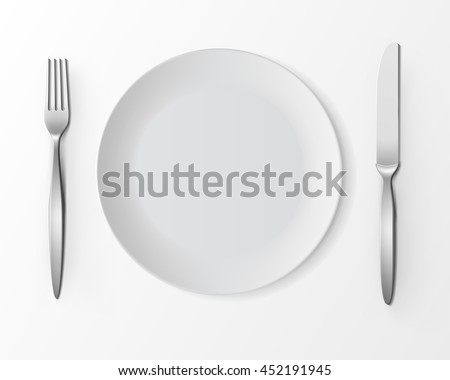 dinner table setting download free vector art stock graphics images