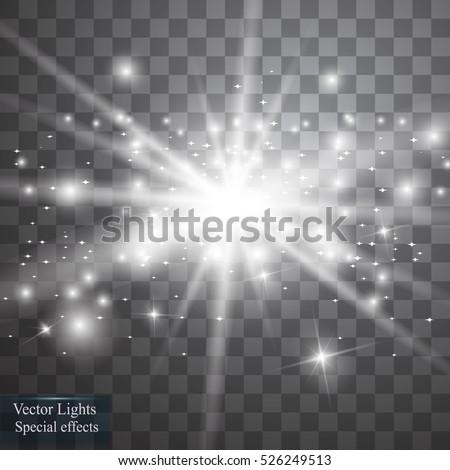 vector white glitter wave