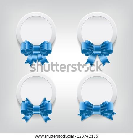 Shiny White Plastic Vector White Plastic Round