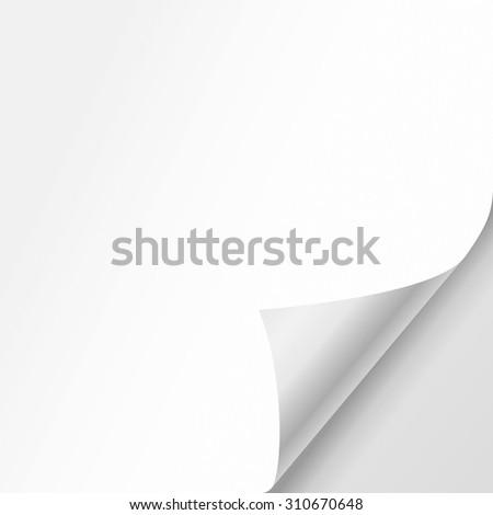 vector white sheet of paper