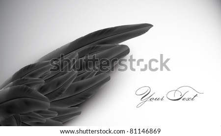 vector wing illustration