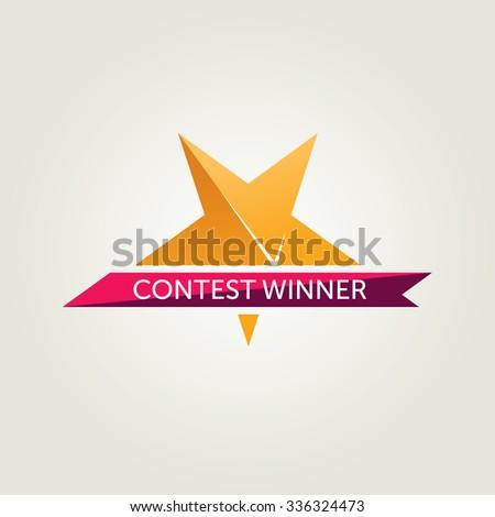 Vector Winner Award Icon
