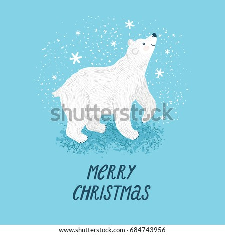 vector winter background with