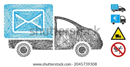 vector wire frame post delivery