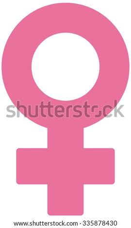 vector woman symbol