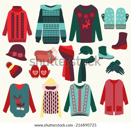 Winter Clothing Download Free Vector Art Stock Graphics Images