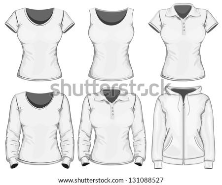 vector women's clothes