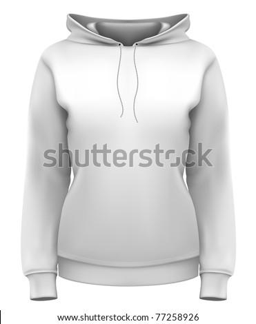 vector women's hoodie