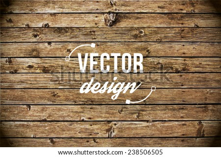vector wood texture background