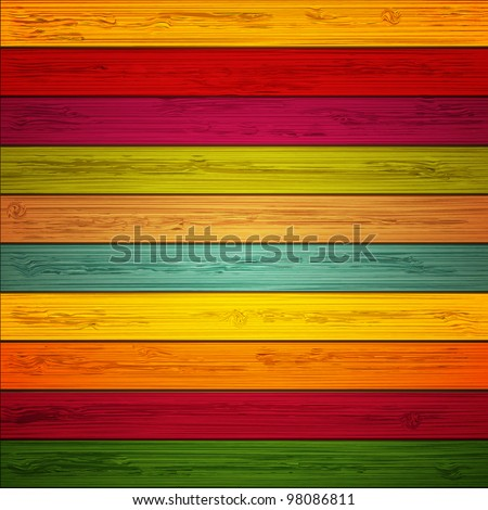 Vector wooden background. Eps10