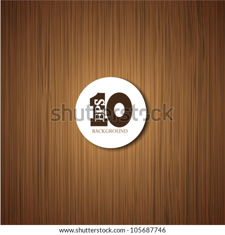 vector wooden background with