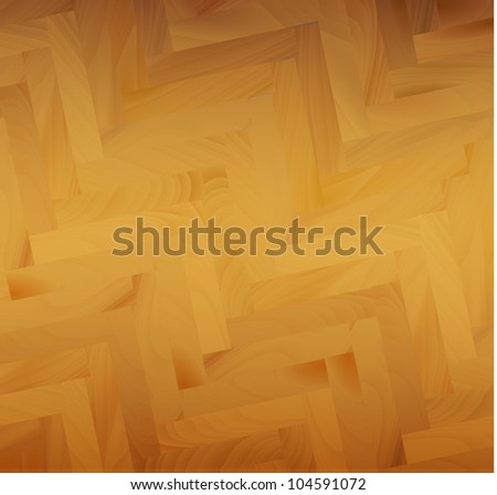 Vector wooden parquets pattern / background illustration