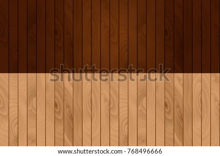 Vector wooden texture. Dark and light wood. Design element, eco material, natural background. Flooring, covering, decking.