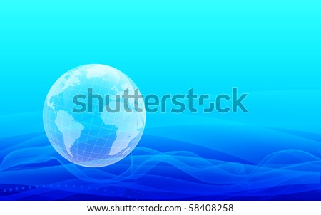 vector world abstract background