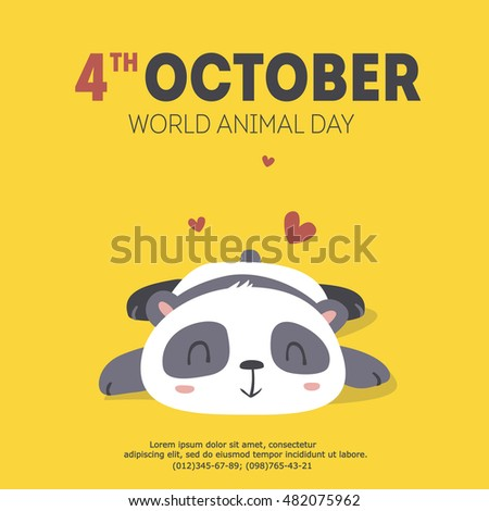 vector world animal day