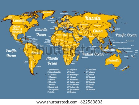 9 stylish vector world map vector download free vector art stock vector world political map with all official countries on 2017 year modern colorful style gumiabroncs Gallery