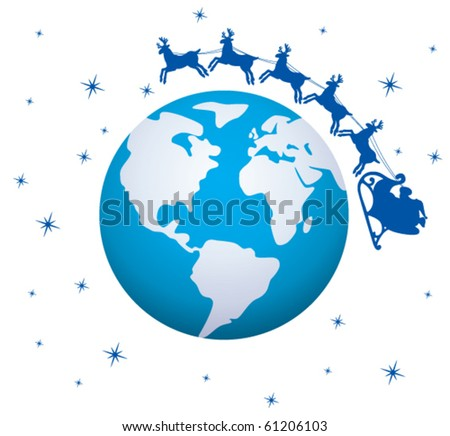 vector xmas holiday background