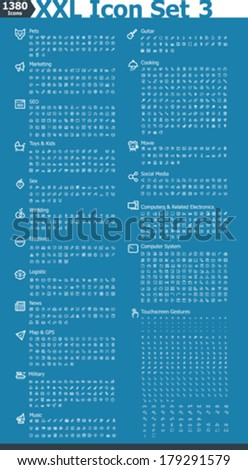 vector xxl icon set 3