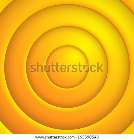 Vector yellaw circle abstract bsckground. Eps10 - Shutterstock ID 165590543