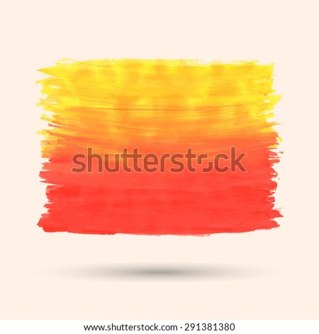 vector yellow and red grunge