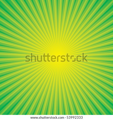 Illustration of Floral yellow background with flowers cosmos, green ...