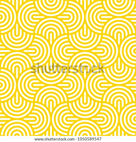 vector yellow geometric pattern