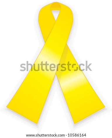 vector yellow ribbon campaign