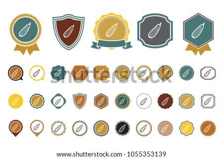 vector zucchini icon