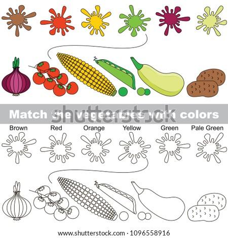 vegetable rainbow set to find