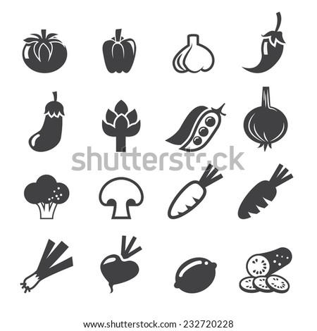 vegetables icon set #232720228