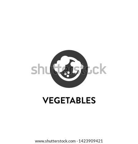 vegetables icon vector. vegetables vector graphic illustration #1423909421