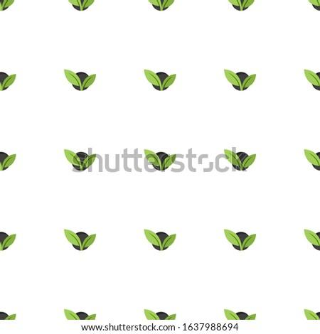 vegetarian icon pattern seamless isolated on white background. Editable flat vegetarian icon. vegetarian icon pattern for web and mobile.