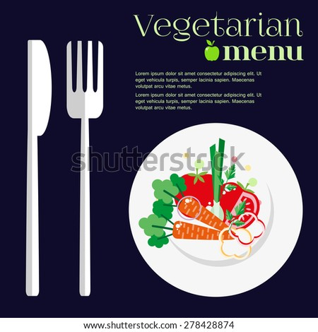 vegetarian menus of restaurants